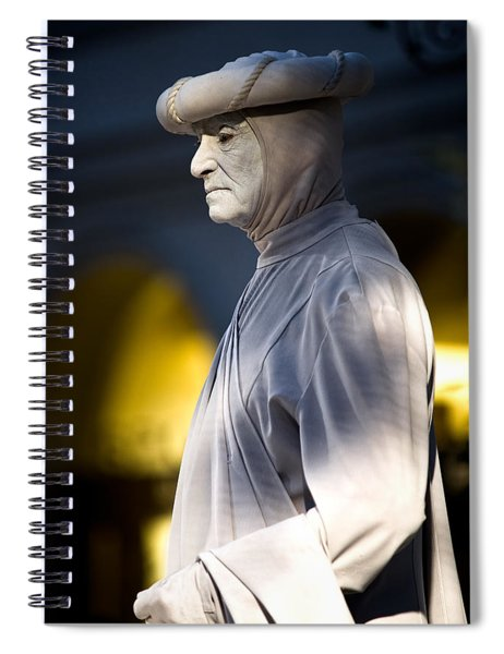 Statuesque Spiral Notebook