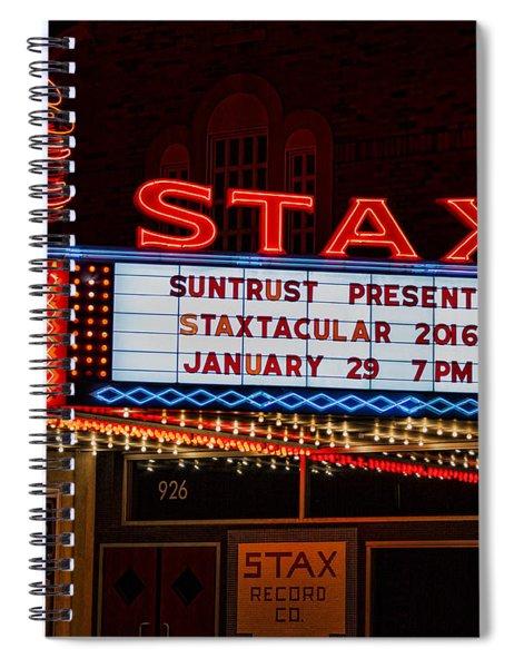 Staxtacular Night Spiral Notebook