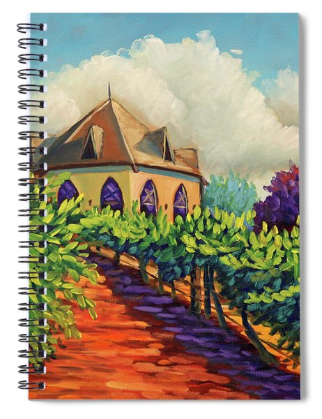 Ste Chappelle Winery Spiral Notebook
