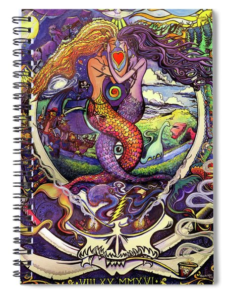 Steal Your Mermaids Spiral Notebook
