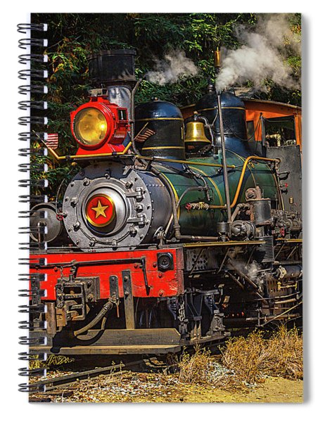 Steam Train Dixiana Spiral Notebook