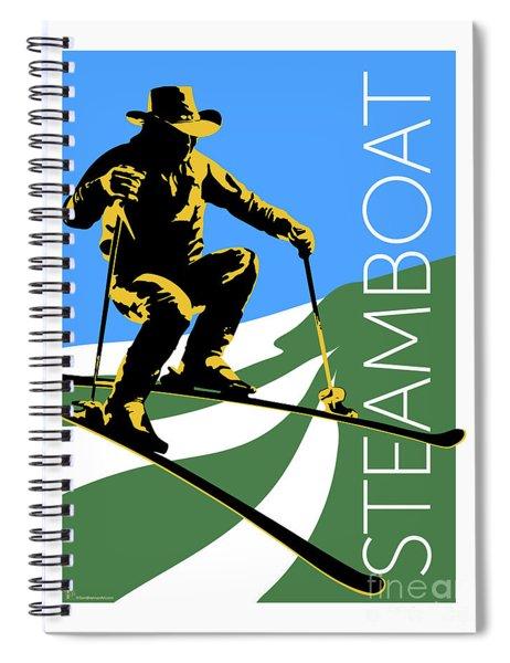 Steamboat Blue Spiral Notebook