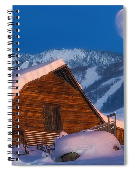Steamboat Dreams Spiral Notebook