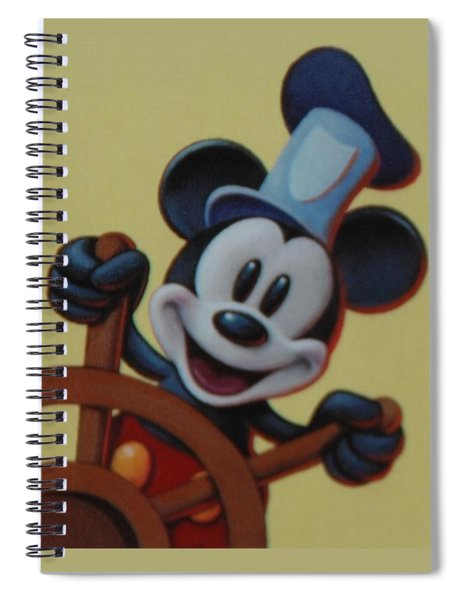 Steamboat Willy Spiral Notebook