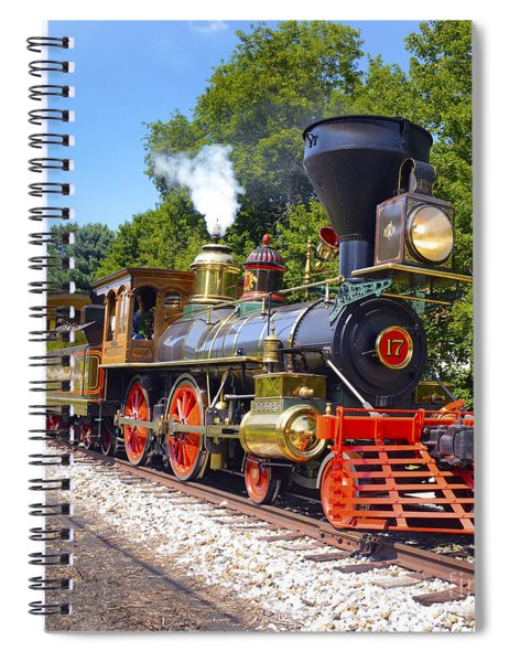 Steaming Into History Spiral Notebook