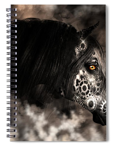 Steampunk Champion Spiral Notebook