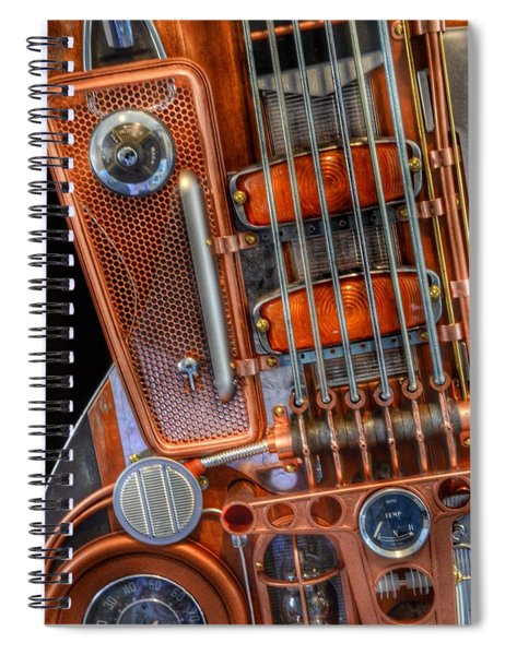 Steampunk Guitar 2 Spiral Notebook