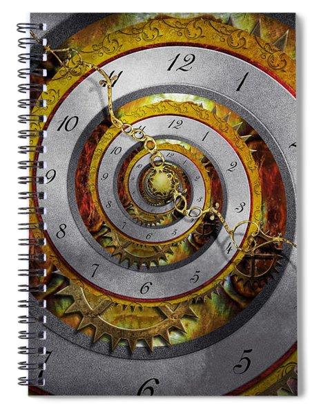 Steampunk - Spiral - Infinite Time Spiral Notebook