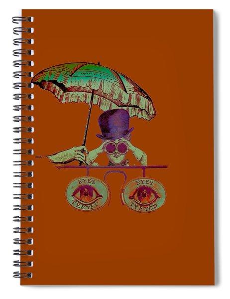 Steampunk T Shirt Design Spiral Notebook