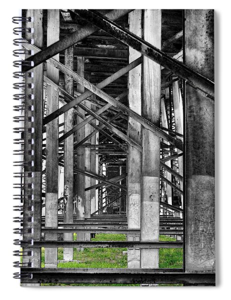 Steel Support Spiral Notebook