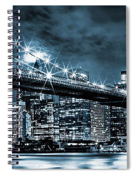 Steely Skyline Spiral Notebook