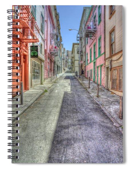 Steep Street Spiral Notebook