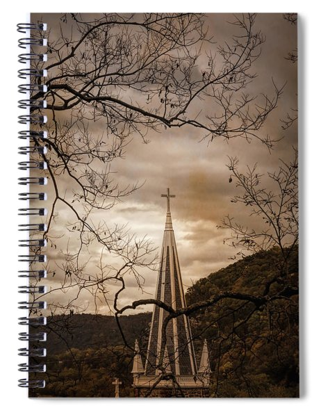Steeple Of Time Spiral Notebook