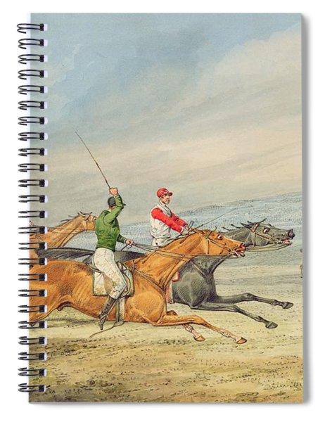 Steeplechasing Spiral Notebook