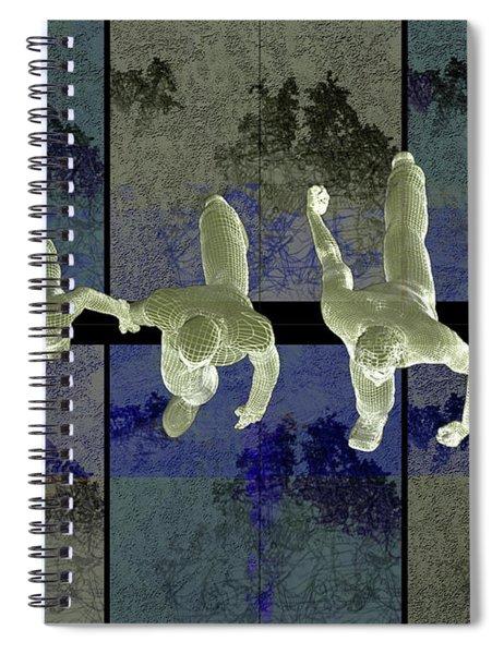 Step Into The Vortex Spiral Notebook