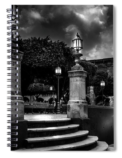 Steps From The Park Spiral Notebook