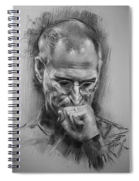 Steve Jobs Spiral Notebook