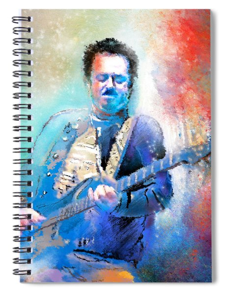 Steve Lukather 01 Spiral Notebook