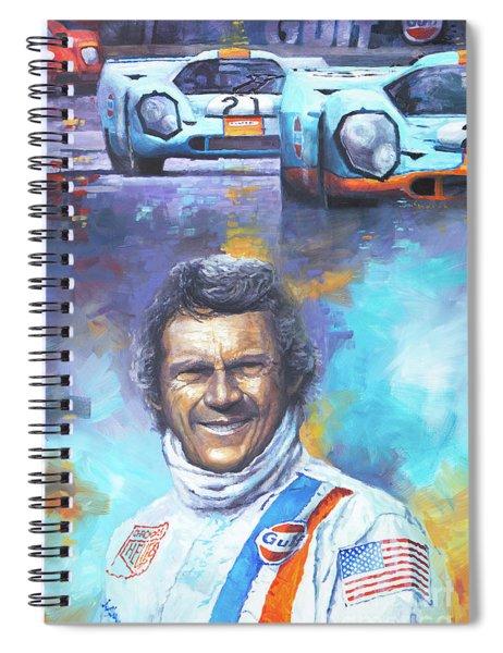 Steve Mcqueen Le Mans Porsche 917 Spiral Notebook