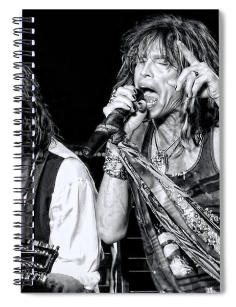 Steven Tyler Croons Spiral Notebook