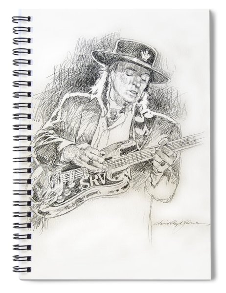 Stevie Ray Vaughan - Texas Twister Spiral Notebook