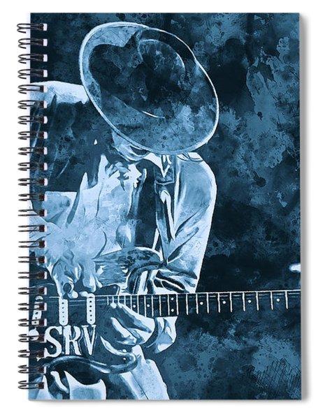 Stevie Ray Vaughan - 12 Spiral Notebook