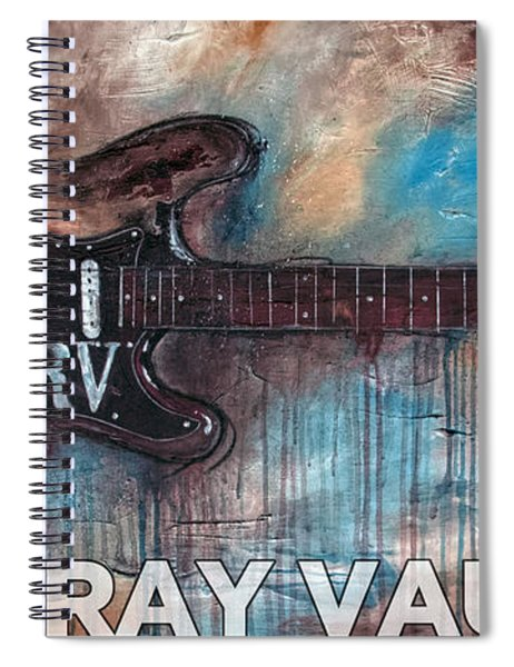 Stevie Ray Vaughan Double Trouble Spiral Notebook