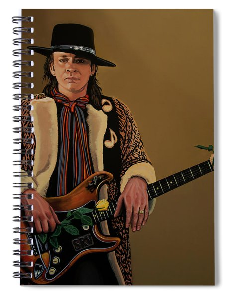 Stevie Ray Vaughan 2 Spiral Notebook