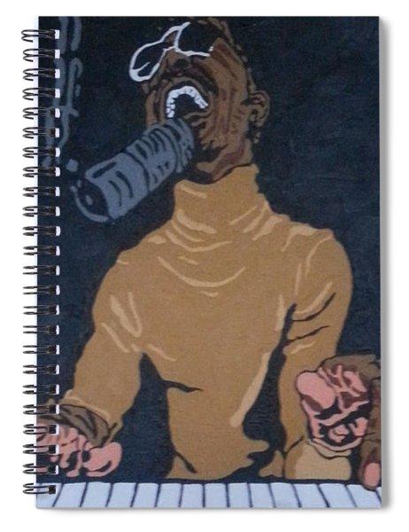 Stevie Wonder Spiral Notebook