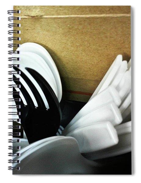 Stickin Out Spiral Notebook