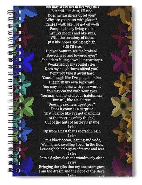 Still I Rise Spiral Notebook