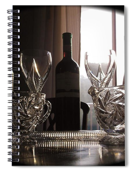 Still Life - The Crystal Elegance Experience Spiral Notebook