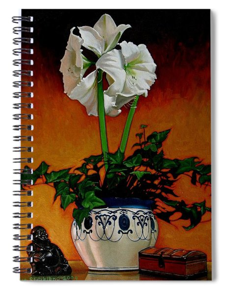 Still Life With Buddha Spiral Notebook