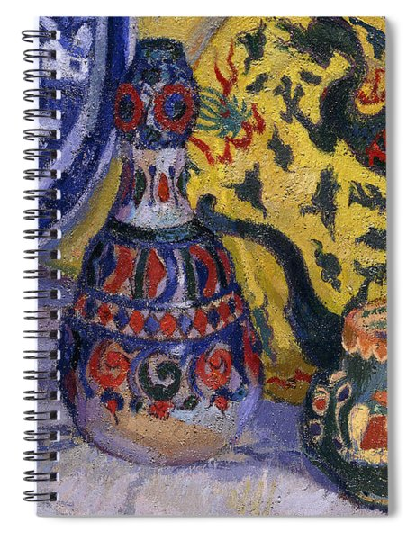Still Life With Oriental Figures, 1913  Spiral Notebook