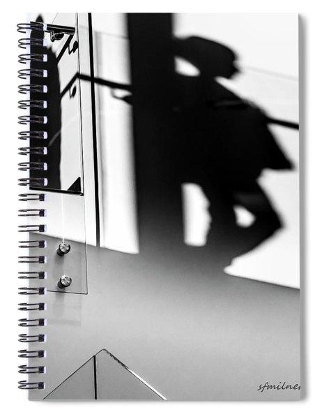 Still Shadows Spiral Notebook
