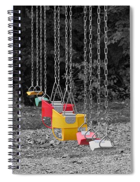Still Swings Spiral Notebook
