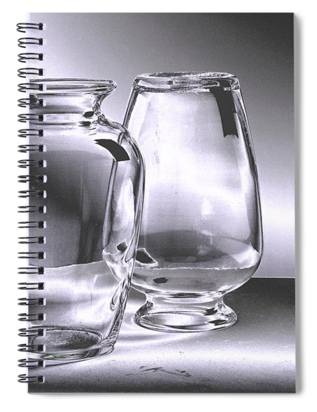 Spiral Notebook featuring the digital art Still Waters 52821 by Brian Gryphon