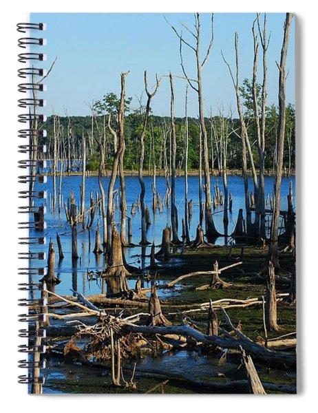 Still Wood - Manasquan Reservoir Spiral Notebook