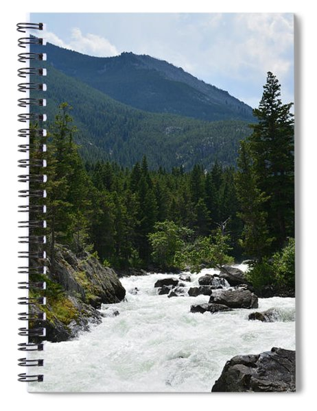 Stillwater Rapids Spiral Notebook