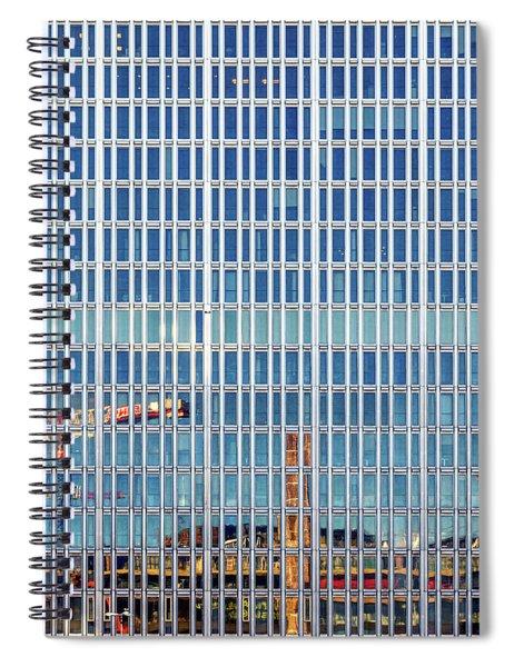 Stockholm Building Spiral Notebook