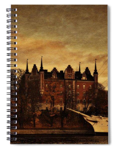 Stockholm In Autumn IIi Spiral Notebook