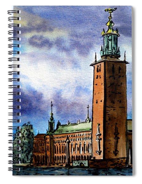 Stockholm Sweden Spiral Notebook
