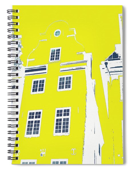 Stockholm Windows Spiral Notebook