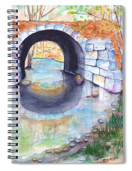 Stone Arch Bridge Dunstable Spiral Notebook
