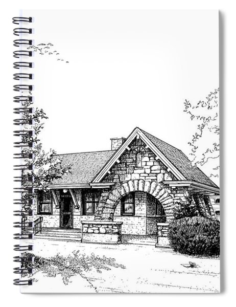 Stone Ave. Train Station Spiral Notebook