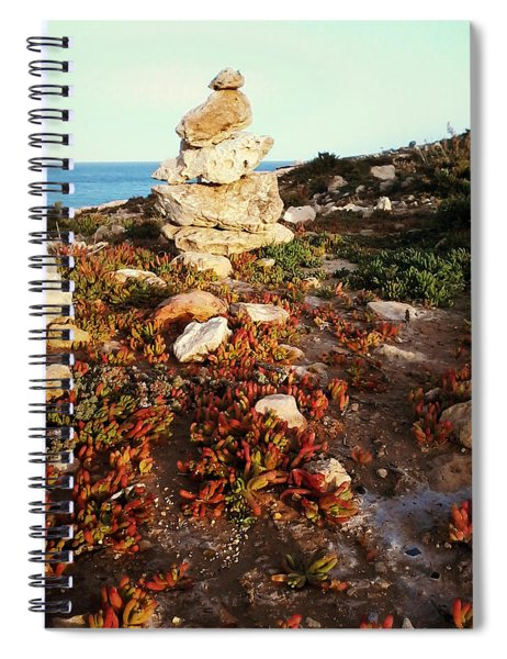 Stone Balance Spiral Notebook