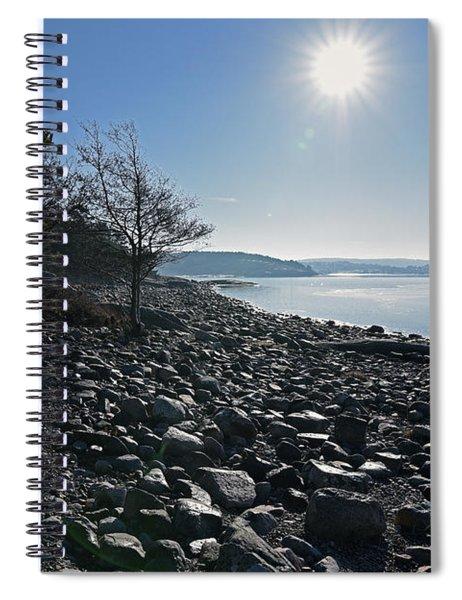 Stone Beach Spiral Notebook