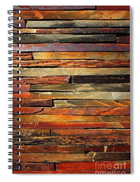 Stone Blades Spiral Notebook