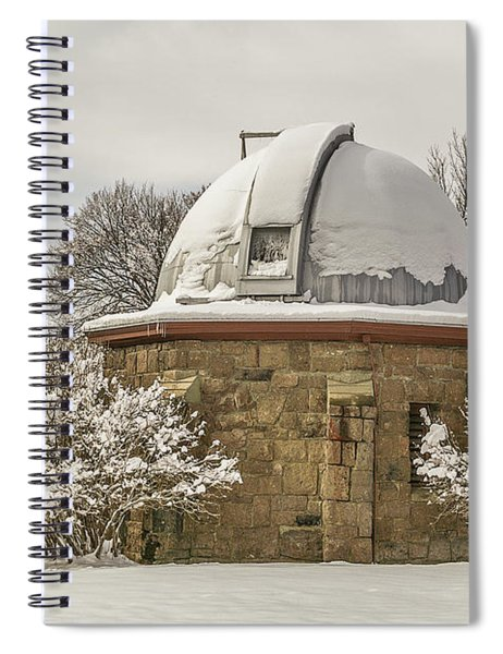Stone Block Observatory Spiral Notebook
