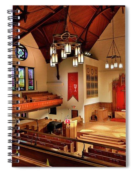 Stone Chapel Spiral Notebook